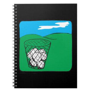 I Got Balls Spiral Note Book