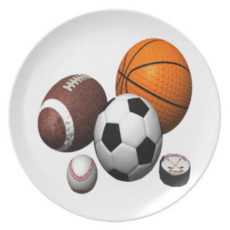 I Got Balls Party Plate