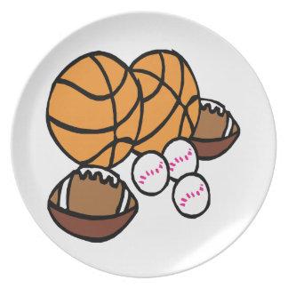 I Got Balls Dinner Plates
