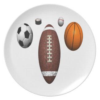 I Got Balls Dinner Plate