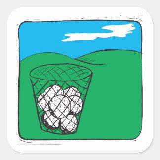 I Got Balls Square Sticker