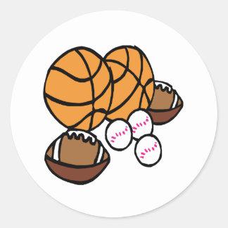 I Got Balls Round Sticker