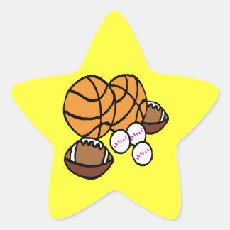 I Got Balls Star Sticker