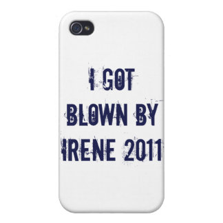 I got blown by Irene Covers For iPhone 4