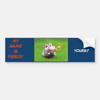 i GOT GAME! Bumper Sticker