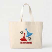 I Got Game Large Tote Bag