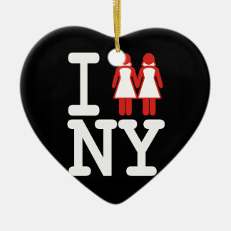 I GOT MARRIED IN NY WOMEN -.png Christmas Ornament