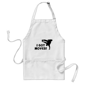 I GOT MOVES! STANDARD APRON