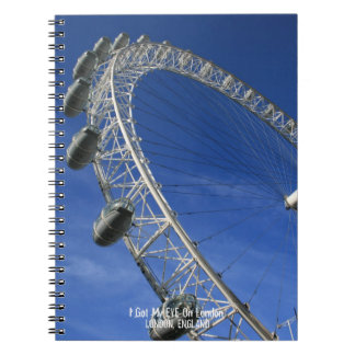 I Got My Eye On London Spiral Bound Notepad Notebooks