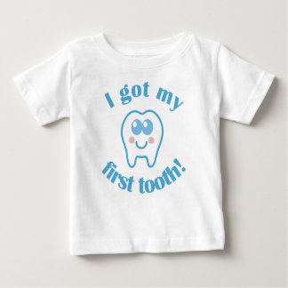 I Got My First Tooth Baby T-Shirt