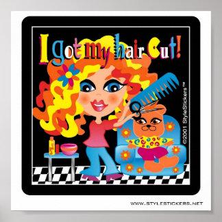 I Got My Hair Cut! Poster for Salon