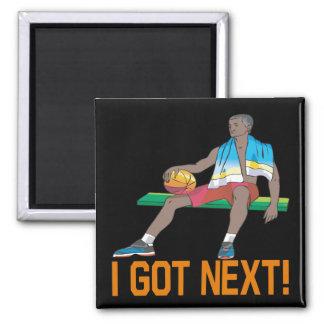 I Got Next Square Magnet