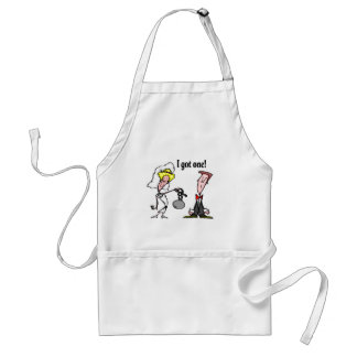 I Got One Ball and Chain Standard Apron