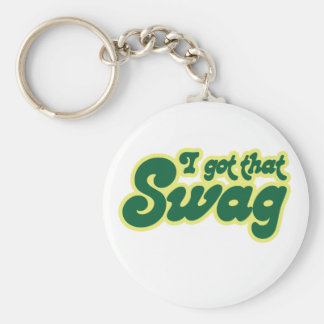 I got swag basic round button key ring