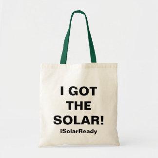 I GOT THE SOLAR! BAG