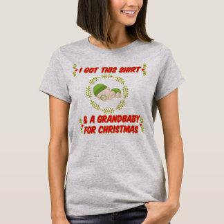 I got this t-shirt & a grandbaby for Christmas