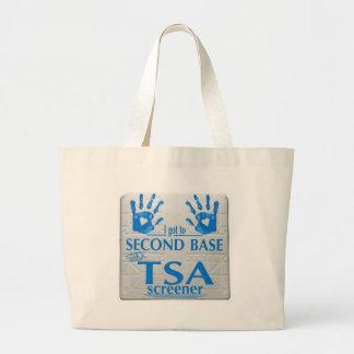 I got to second base with a TSA screener Bags