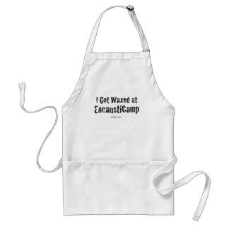I Got Waxed apron