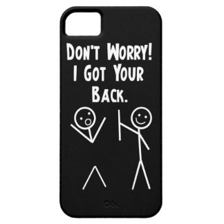 I Got Your Back iPhone 5 iPhone 5 Cases