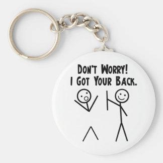I Got Your Back Keychain