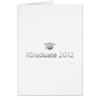 i Graduate 2012 Card