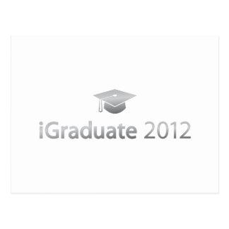i Graduate 2012 Postcard