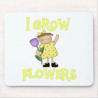 I Grow Flowers Mouse Pads