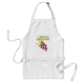 I Grow Grapes Tshirts and Gifts Adult Apron