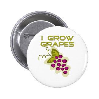 I Grow Grapes Tshirts and Gifts Pins