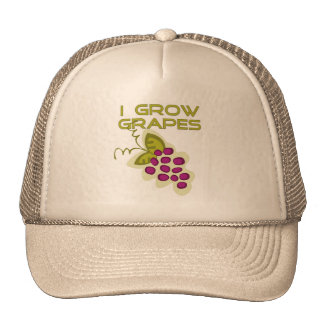 I Grow Grapes Tshirts and Gifts Hat