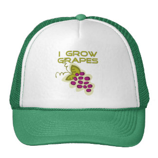 I Grow Grapes Tshirts and Gifts Trucker Hat