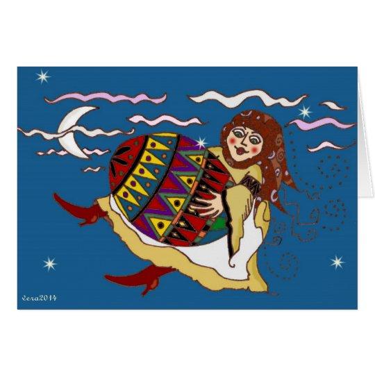 I Had a Dream Ukrainian Folk Art Card