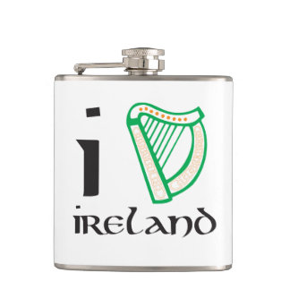 I harp Ireland hip flask