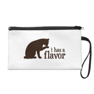 i has a flavor Kitty Cat Wristlet