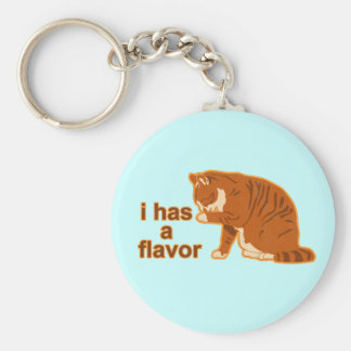 I has a flavor, LOL CAT Key Ring