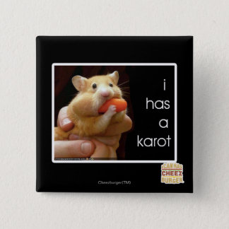 I has a karot 15 cm square badge