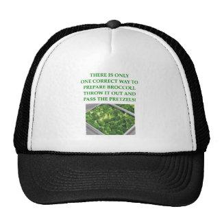 i hate broccoli trucker hat