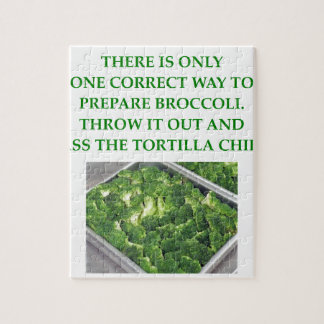 i hate broccoli jigsaw puzzle