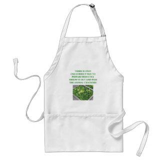 i hate broccoli standard apron