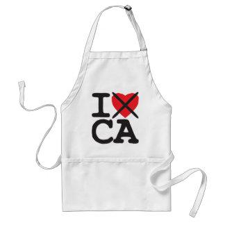 I Hate CA - California Apron