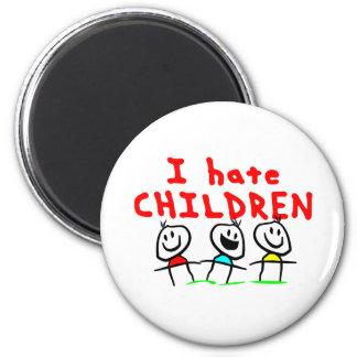 I hate children! magnet