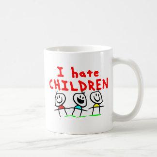 I hate children! coffee mug