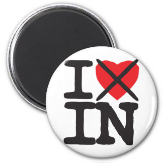I Hate IN - Indiana Magnet