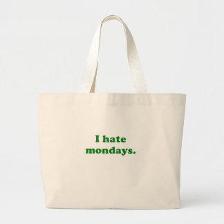 I Hate Mondays Bag