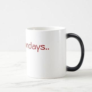 I hate Mondays Morphing Mug