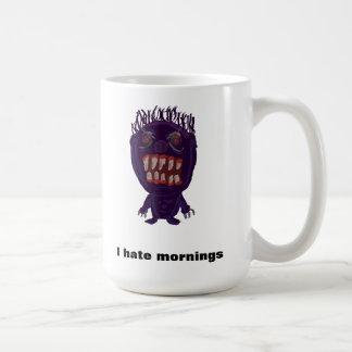 I hate mornings monster morning mug
