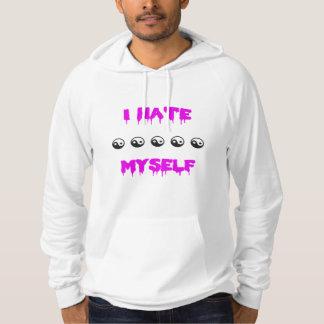 I hate myself hoodie