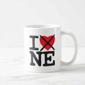 I Hate NE - Nebraska Coffee Mugs