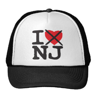 I Hate NJ - New Jersey Cap