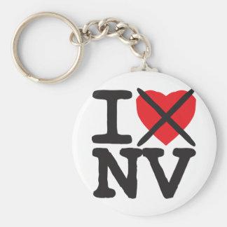 I Hate NV - Nevada Key Ring